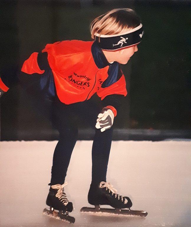 Ditsy Bergman schaatsen