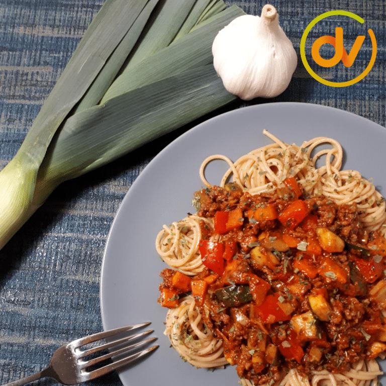 Spaghetti Bologne - DitsVit
